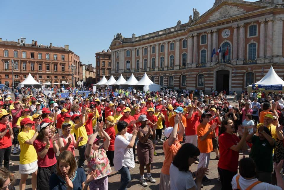 A Toulouse,Pour le Congrès de l'UNAPEI,