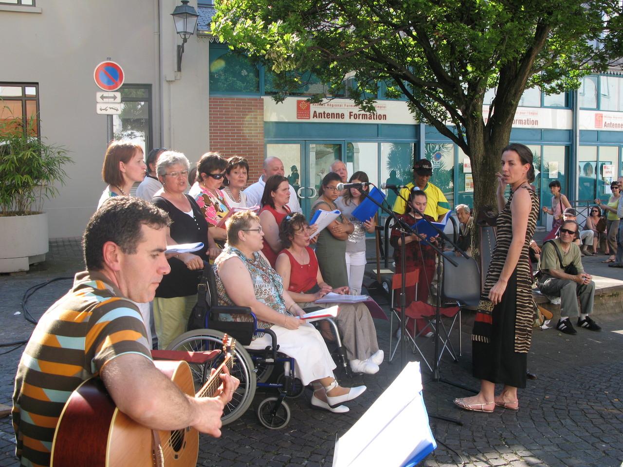 Fête de la musique tarbes place St Anne 21 juin 2008