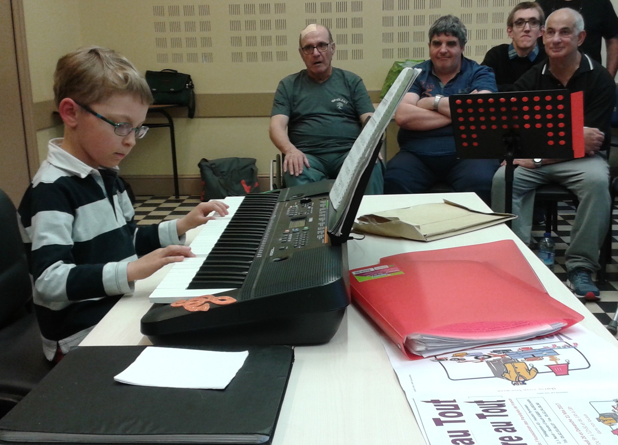 Fiorello nous joue trois morceaux de musique