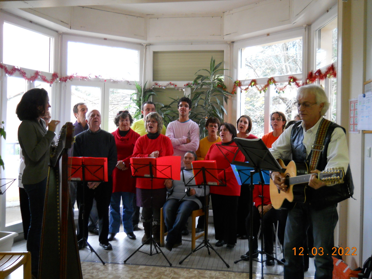 Hopital de jour Lourdes 21 décembre 2011