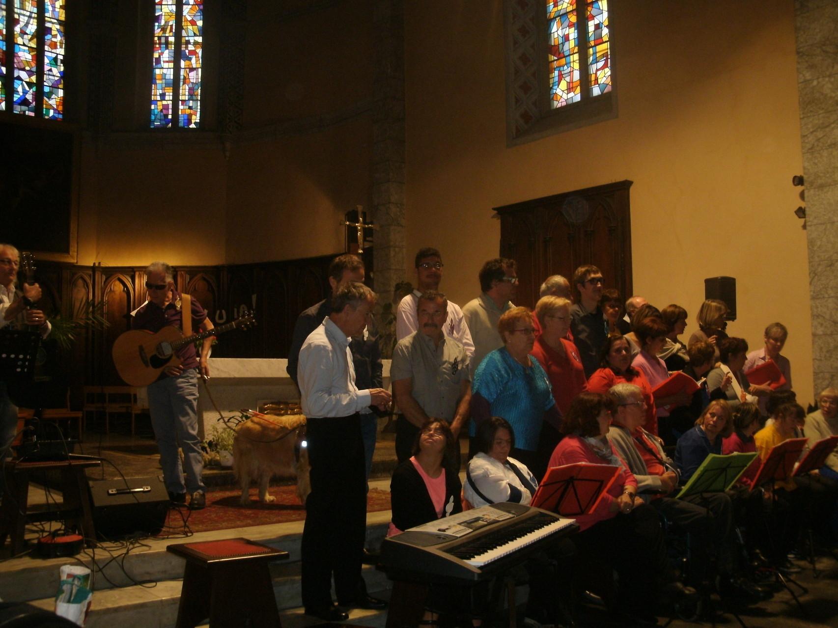Notre chorale s'est agrandie tout au long de l'année,