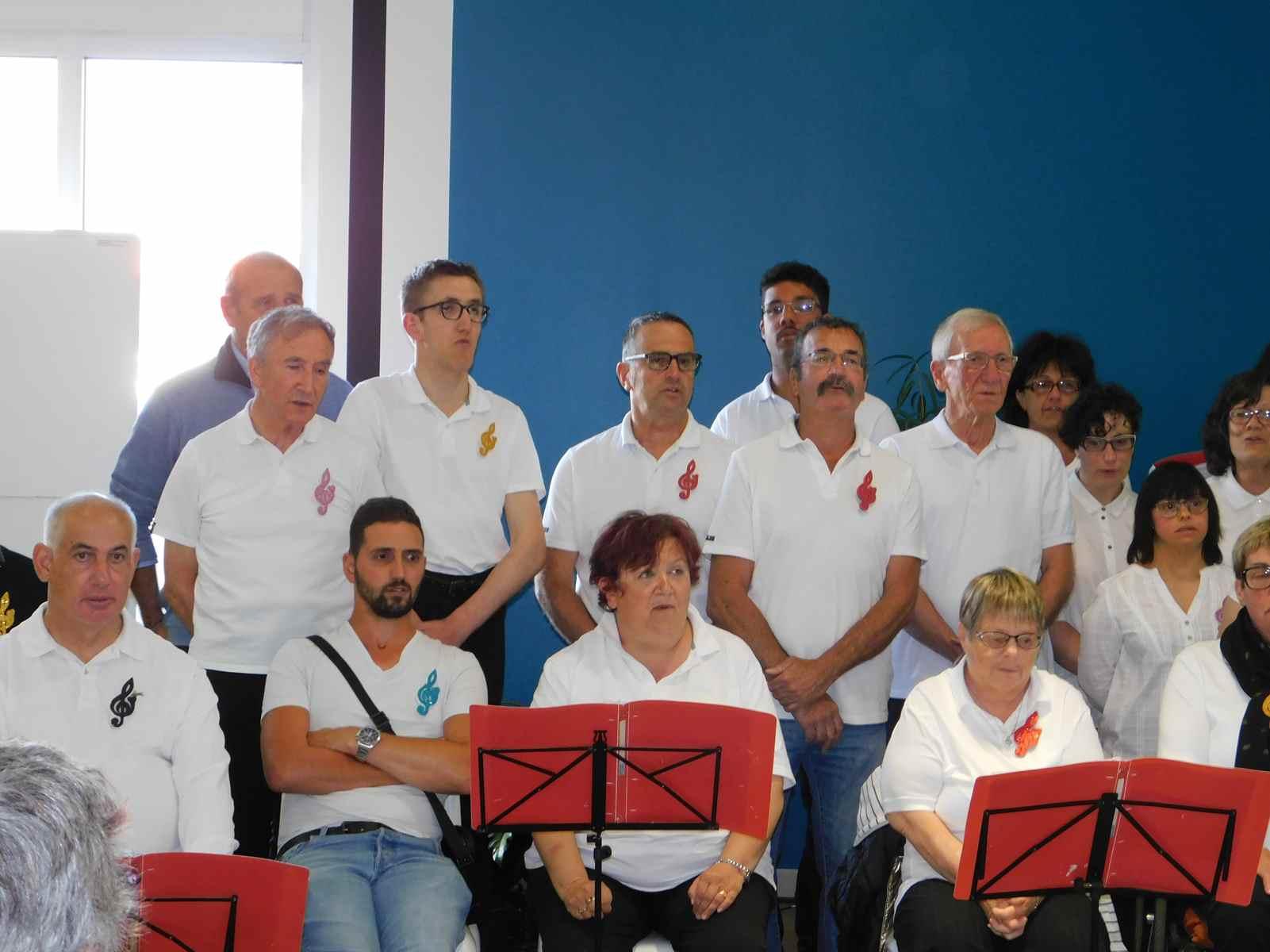 à l'Inauguration des nouveaux locaux de l'APF France handicap