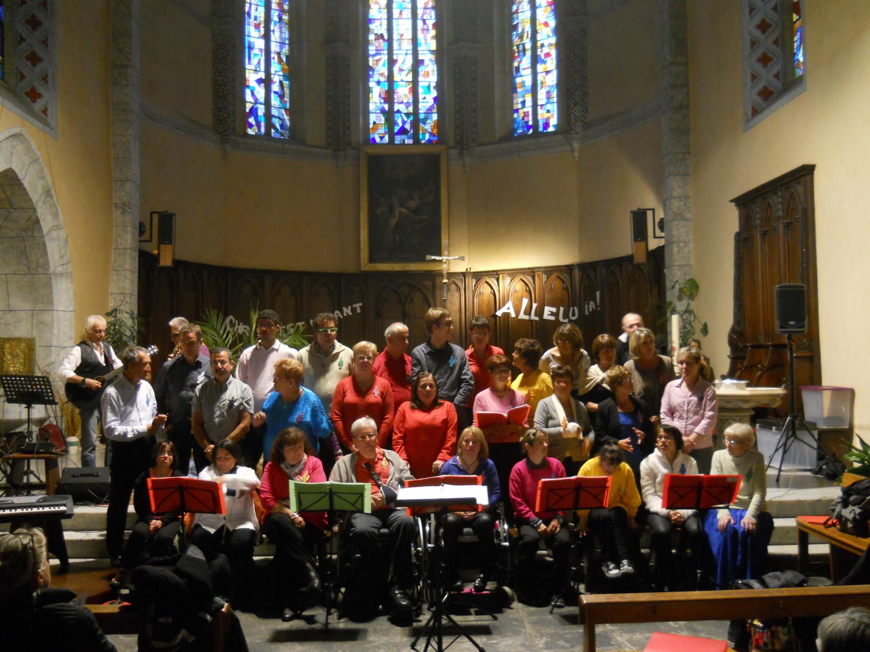Le 30 Mai 2014,notre concert de fin d'année à Tarbes,