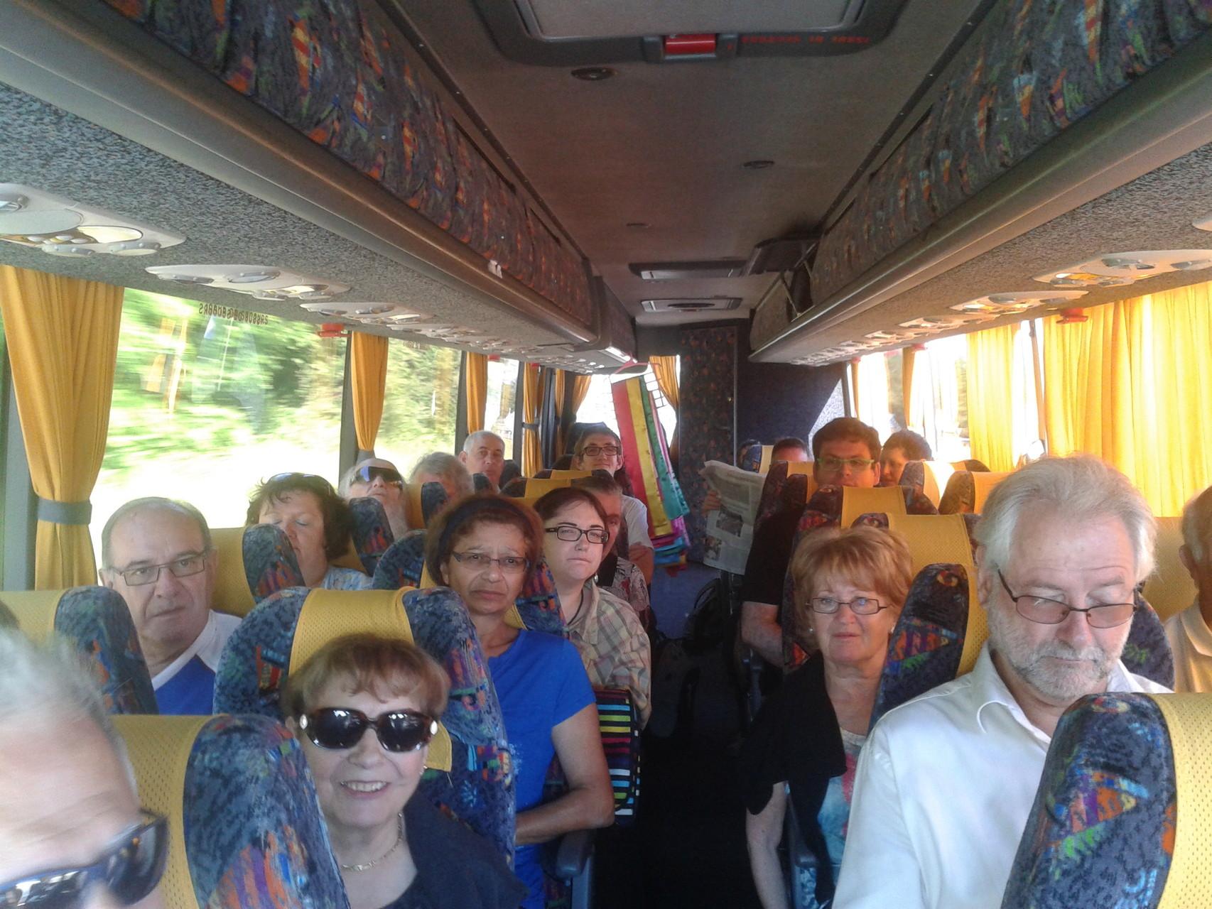 le 4 Juin 2015,le bus nous emmène à Toulouse,