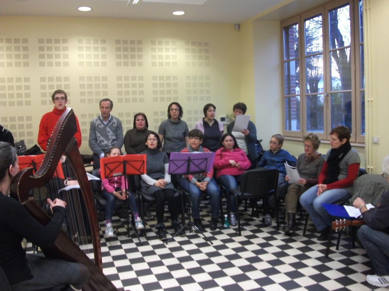 répétition maison du Giat Tarbes  janvier 2012