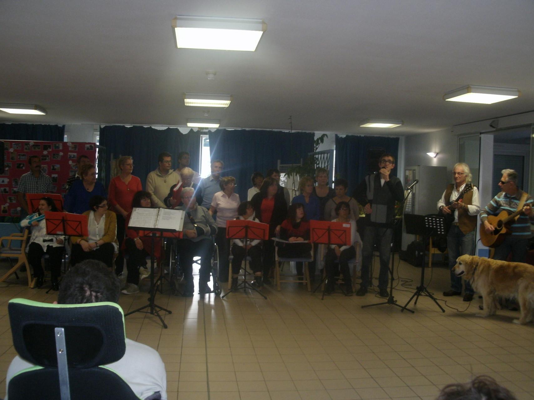 Deuxième Concert de l'année 2014,le 4 Avril au F.A.M. de Tournay,