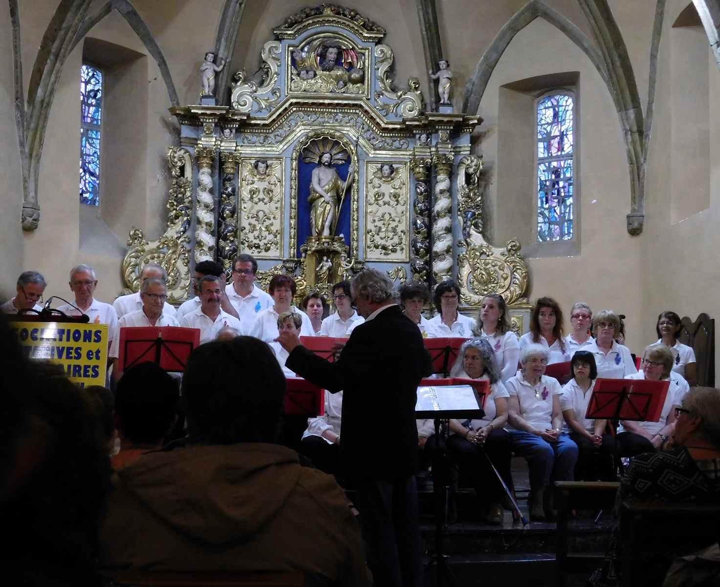 Concert le 25 Mai 2018 à L'église St Jean-Baptiste au profit des Associations Caritatives de Lannemezan