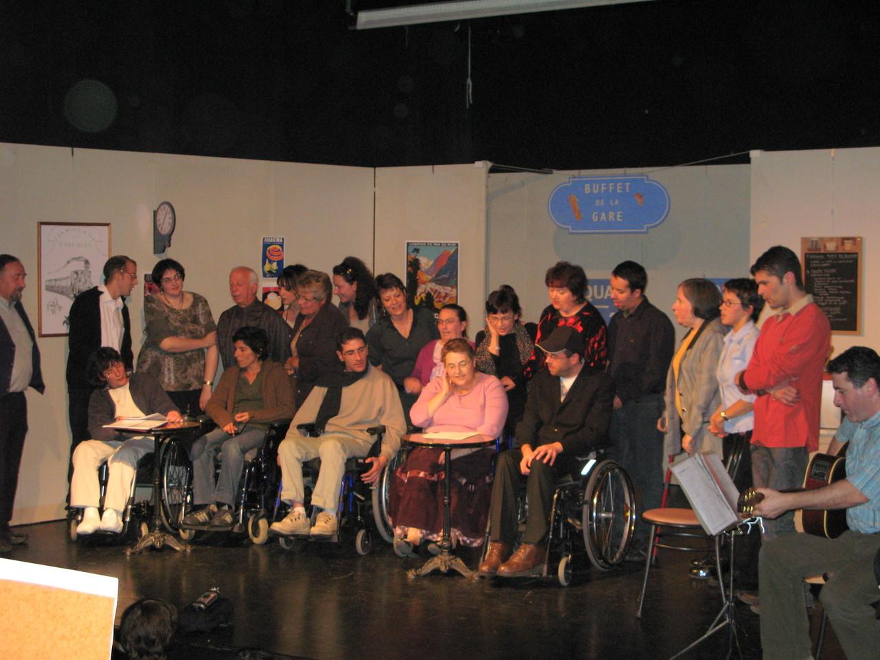 'Gare à Vous' avec la troupe Le Pyr est Né 27 novembre 2008