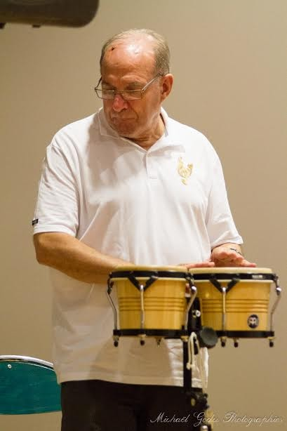 Daniel,notre percussioniste,