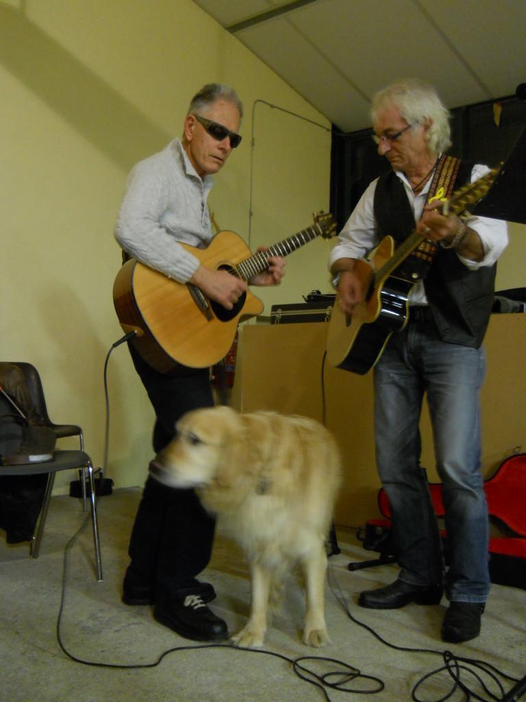 Intermède musical avec Patrick Jacques et Booster