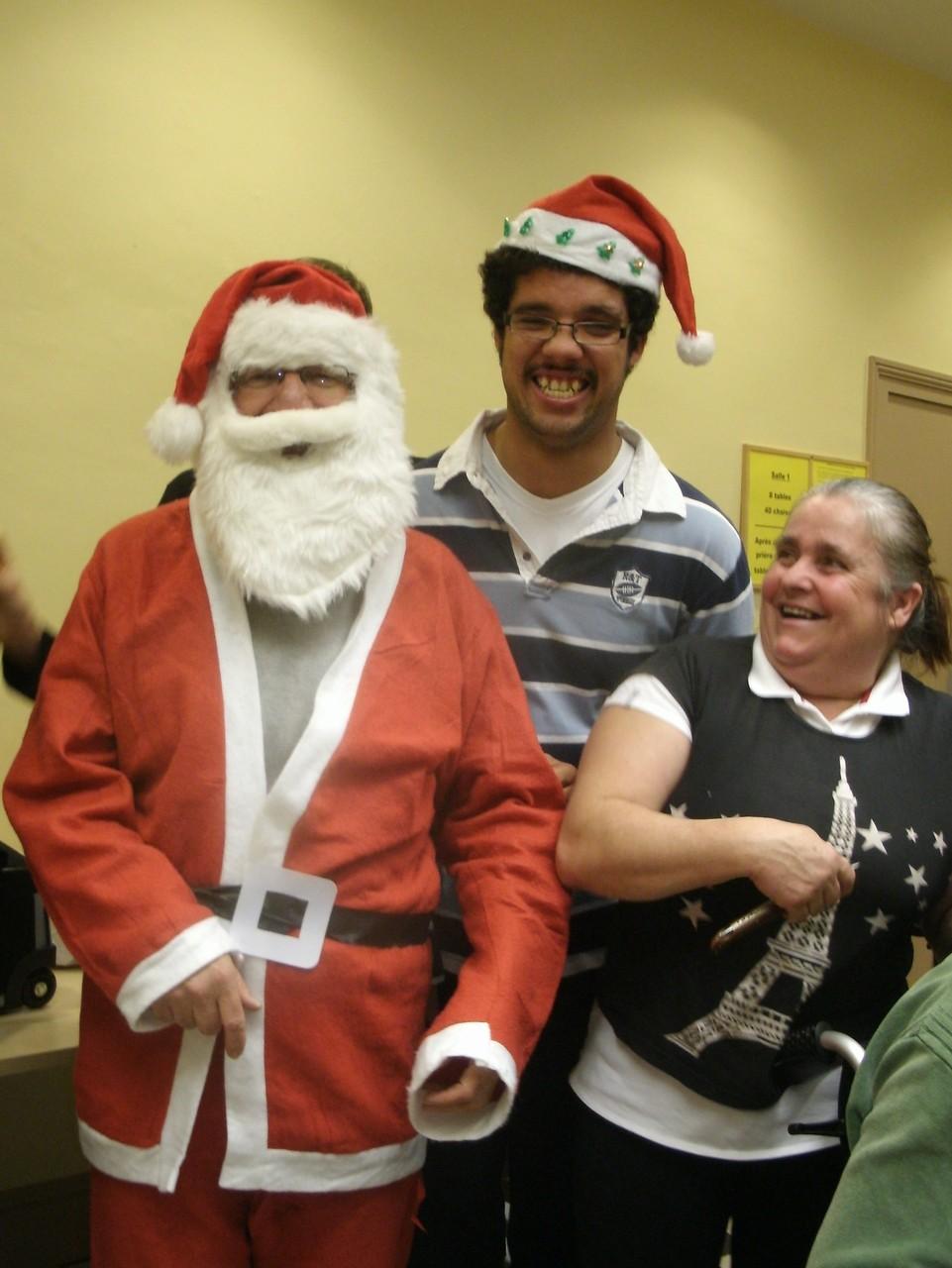 Le 18 Décembre 2015,arrivée surprise du Pére Noel.