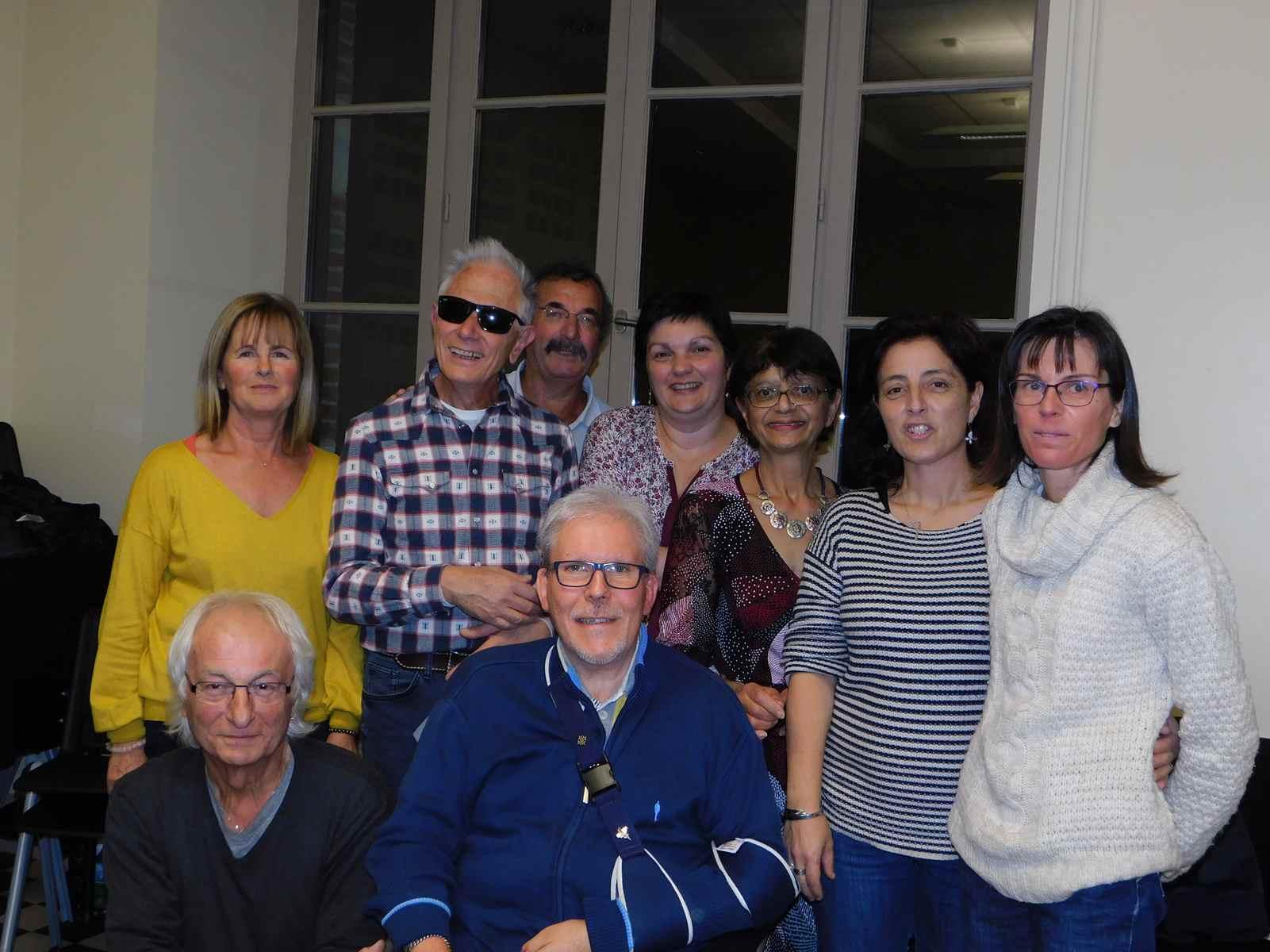 Le 2 Novembre 2018,Joyeux Anniversaire à Chantal,Christelle,Christiane,Joelle,Sandrine,Frédéric,Jacques,Patrick,Yvon