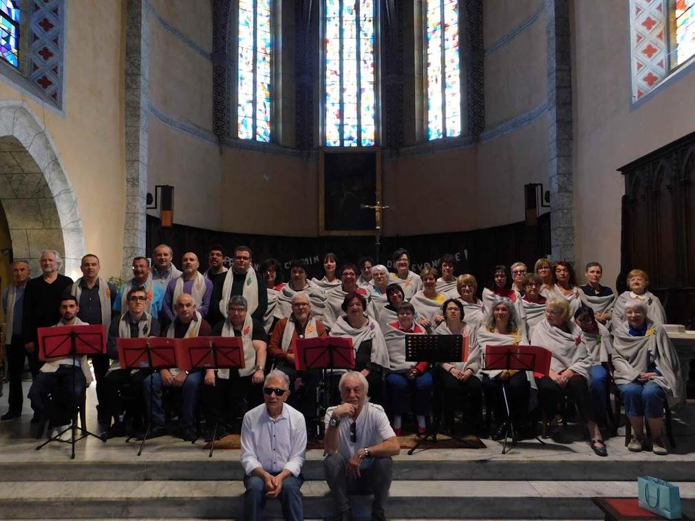 Avec la Chorale des Chanteurs Pyrénéens