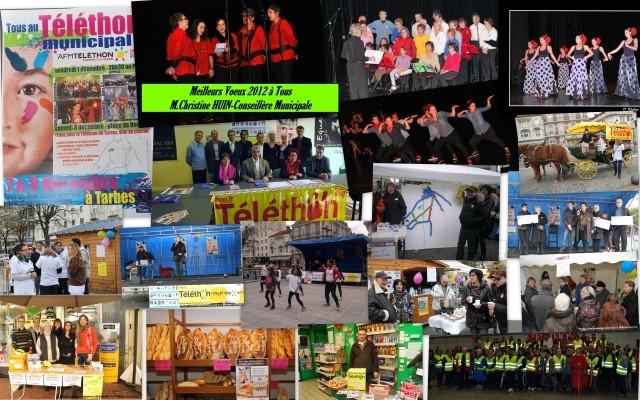 Téléthon Tarbes 7 décembre 2012
