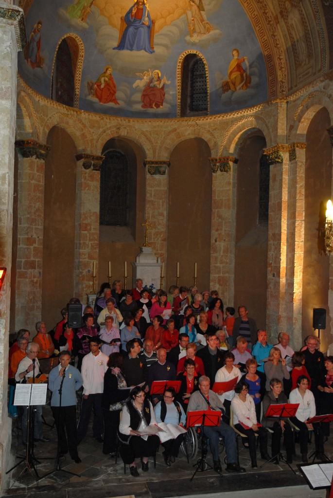 Concert Haut les Coeurs église de Larreule le 19 avril 2013