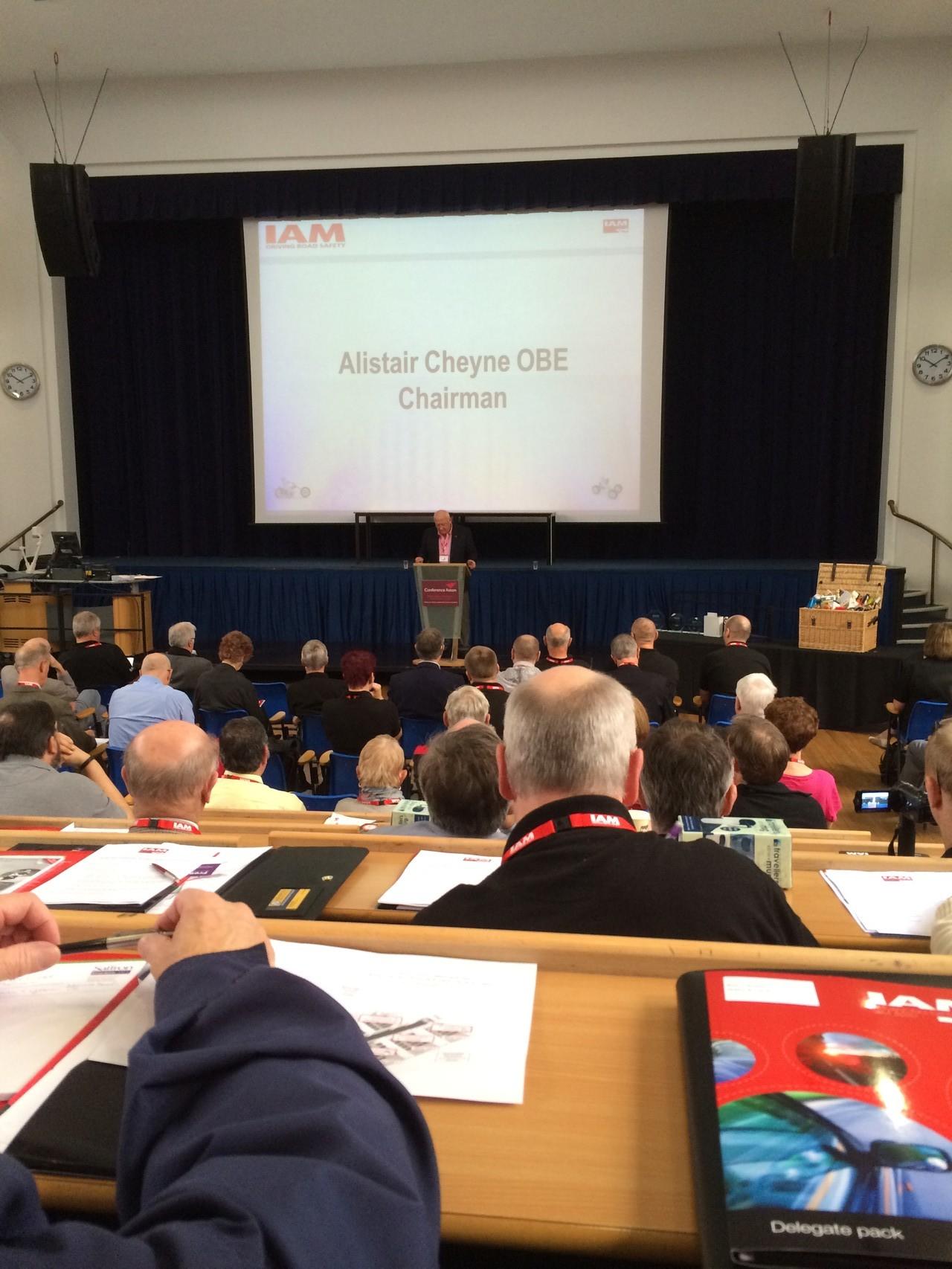 IAM Conference 2014 - Aston University