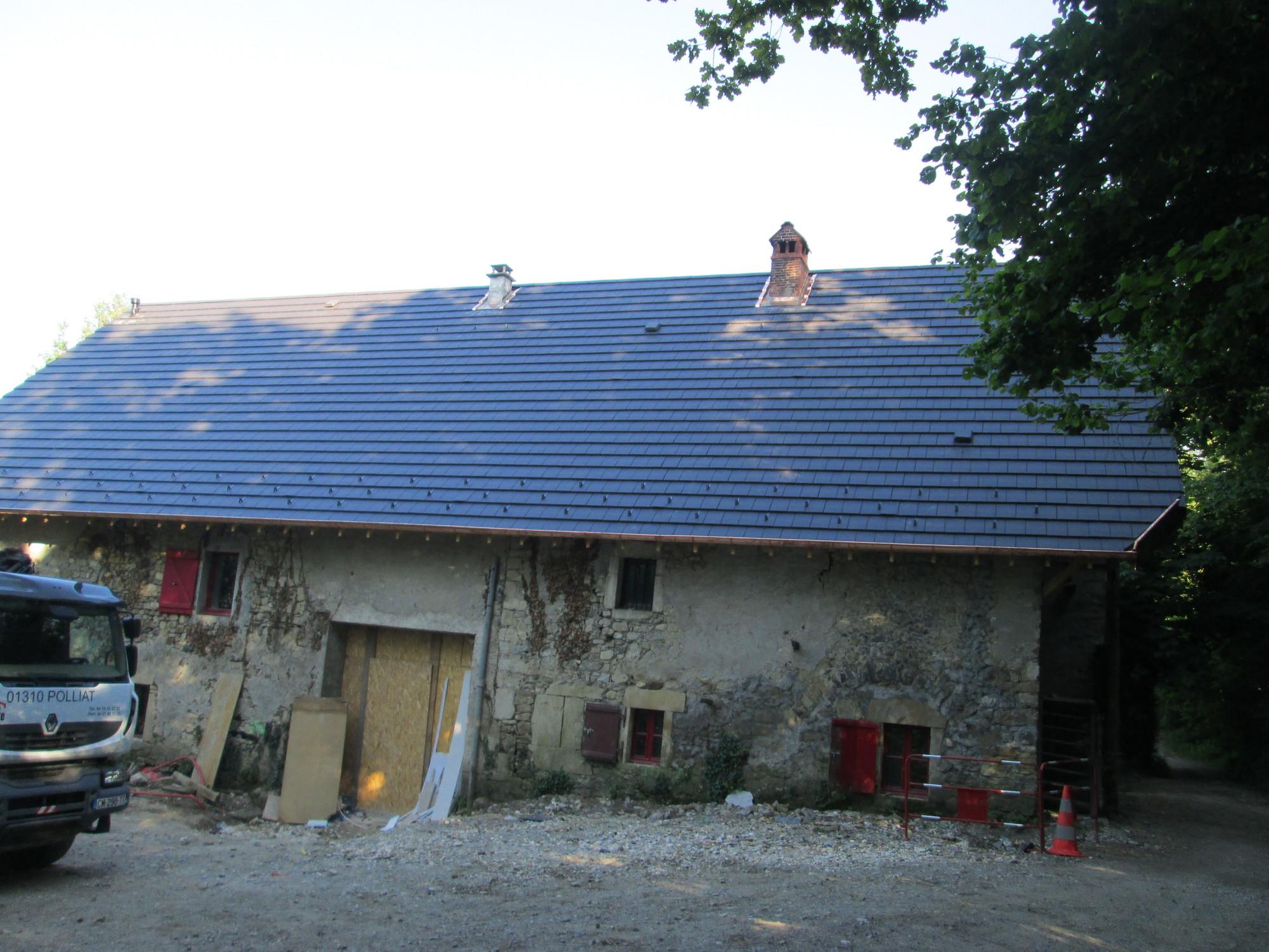 rénovation toiture après