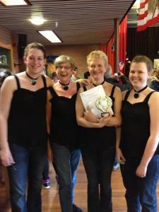 Wedstrijd 2013 teamdans
