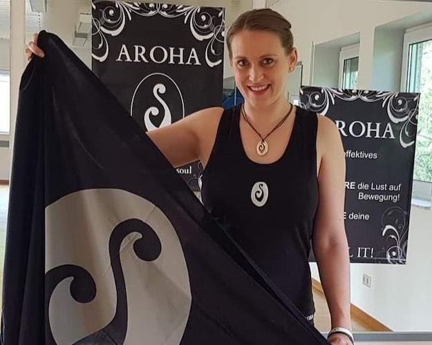 Daniela Recki übernimmt ab 26. April immer montags das Aroha-Training –zunächst via YouTube. (Foto: privat)