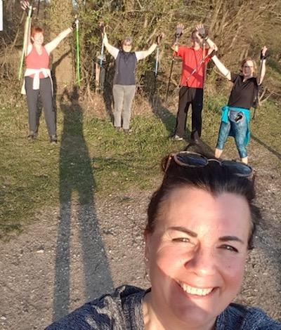 Einsteigerkurs Nordic Walking: Auf die Technik kommt es an