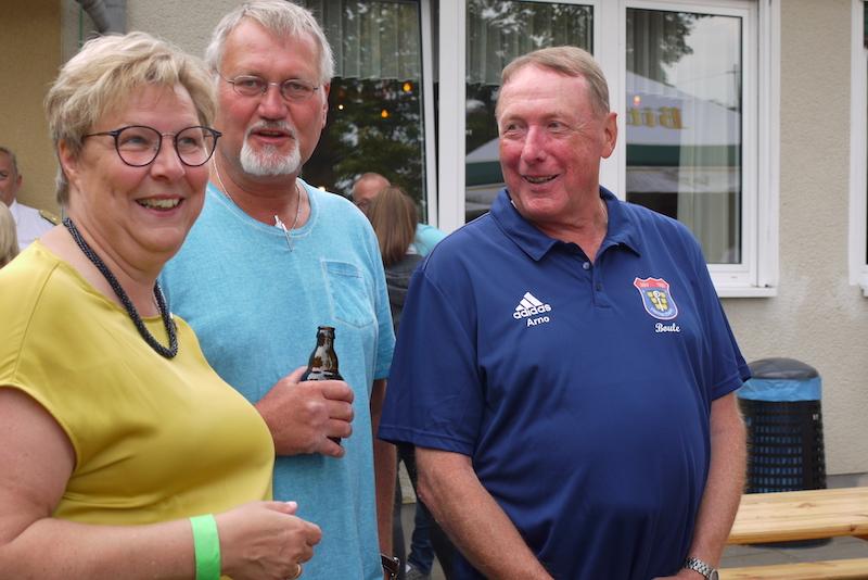 Bürgermeisterin Petra Kalkbrenner, Frank Schömel, Arno Schaefer