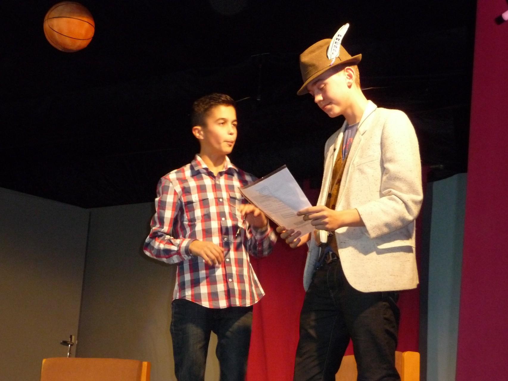 """Alexis et Marius : """"l'étudiant diplômé et le journaliste"""""""