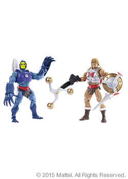 Terror Claw Skeletor & Flying Fists He-man