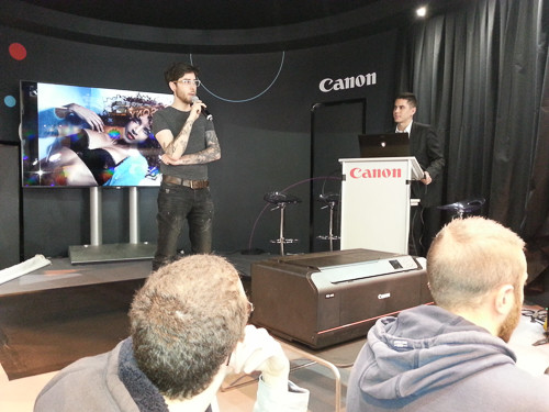 CONFÉRENCE CANON SALON DE LA PHOTO PARIS 2015