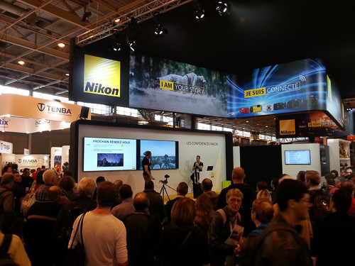 CONFÉRENCE NIKON SALON DE LA PHOTO PARIS 2015
