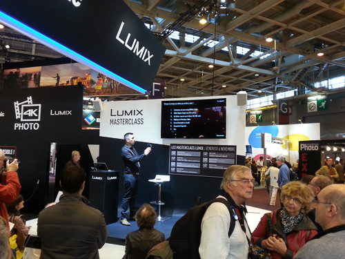 CONFÉRENCE LUMIX SALON DE LA PHOTO PARIS 2015