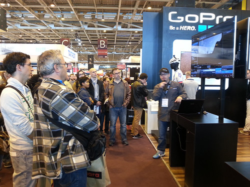 CONFÉRENCE GO PRO SALON DE LA PHOTO PARIS 2015