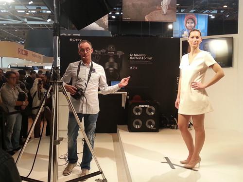 CONFÉRENCE SONY SALON DE LA PHOTO PARIS 2015