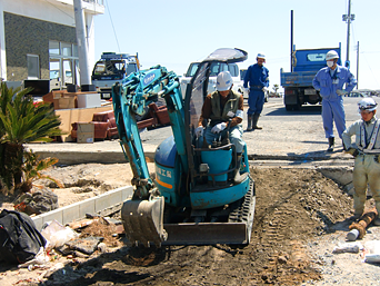 東日本大震災の水道施設の復旧