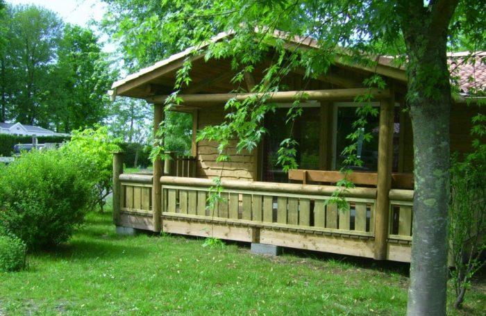 Chalet en location au Camping Les Pres Verts