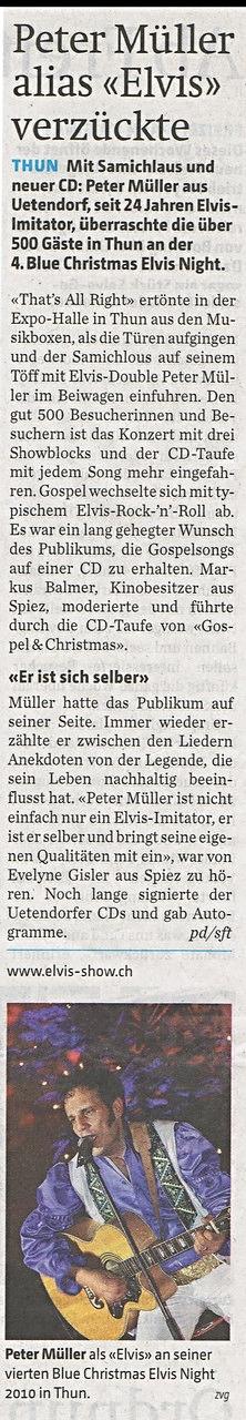Internationales Drehorgelfetival mit Elvis Imitator Peter Müller