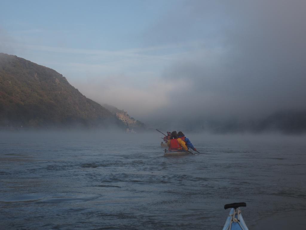 Morgens noch Nebel