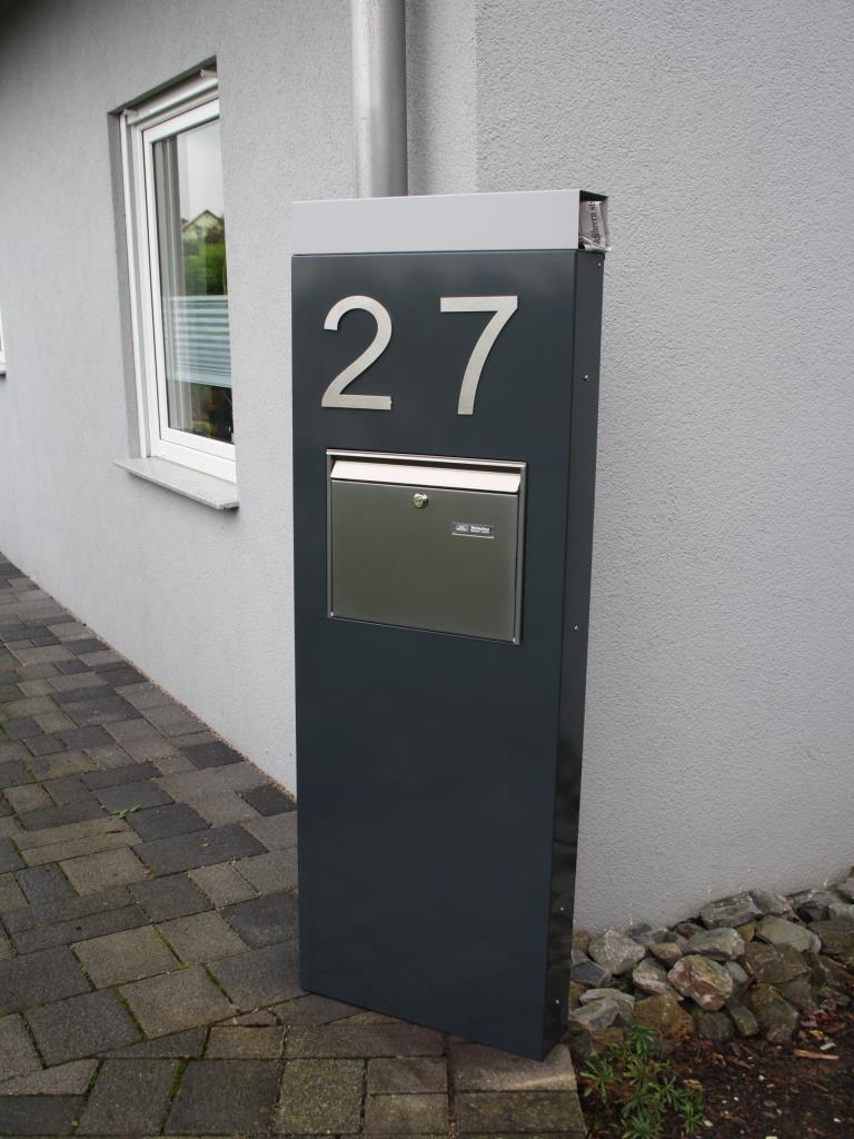 Neu Briefkasten Stele Briefkastenstelen - metallmoebel24 RC83