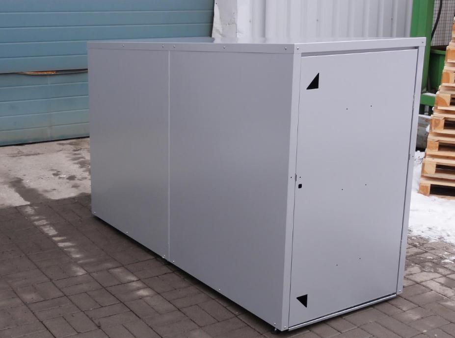 Scooterbox / Scootergarage Profilansicht  ( Abb. ähnlich)
