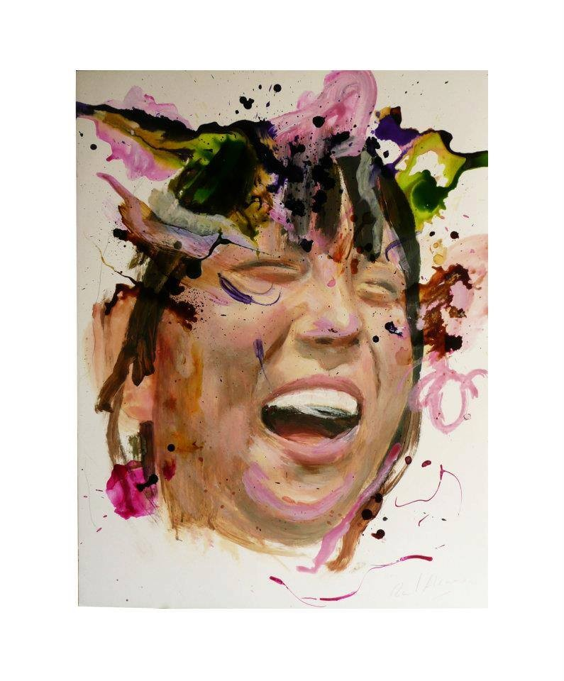 Raúl Herrera. Acrylic and ink on paper. 70 x 50 cm. 2012.