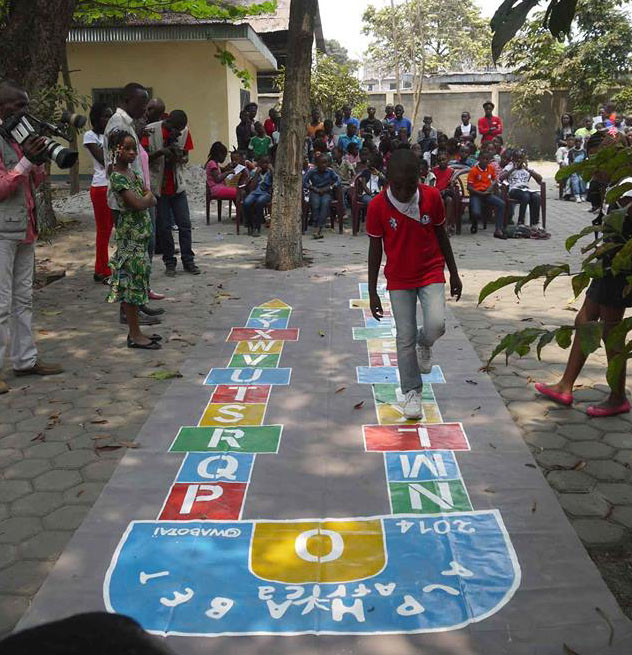 LA MARELLE au 1er Festival Alphabet Africa, Brazzaville 6 Septembre 2014