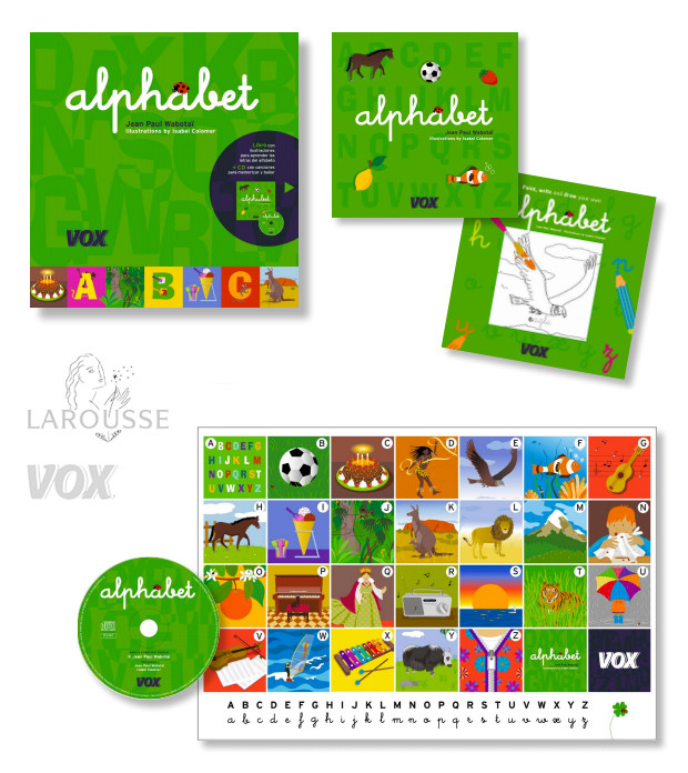 VOX ALPHABET (version anglaise) Larousse 2010