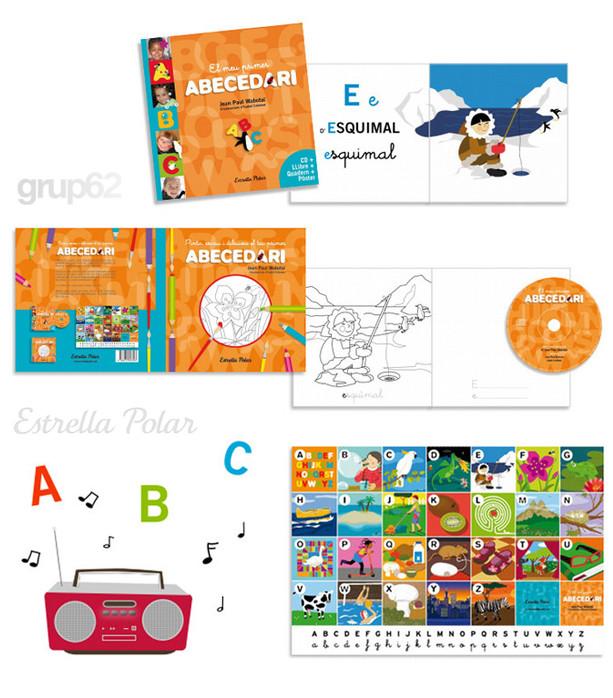 EL MEU PRIMER ABECEDARI (version catalane) Edicions62 - Estrella Polar 2013