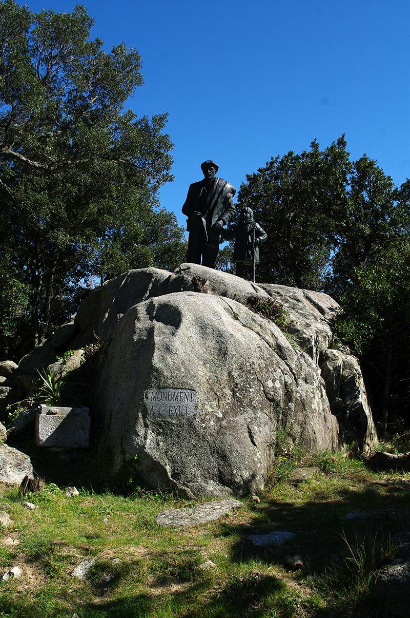 Monument de l'Exil - La Vajol