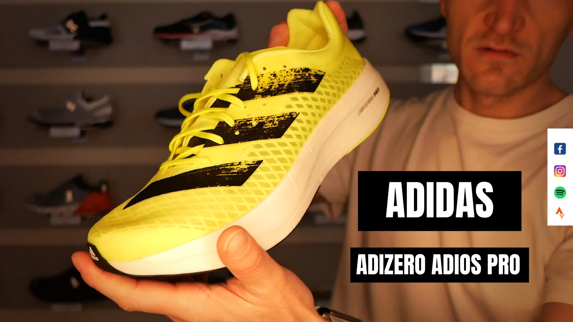 Review: Adidas Adizero Adios Pro