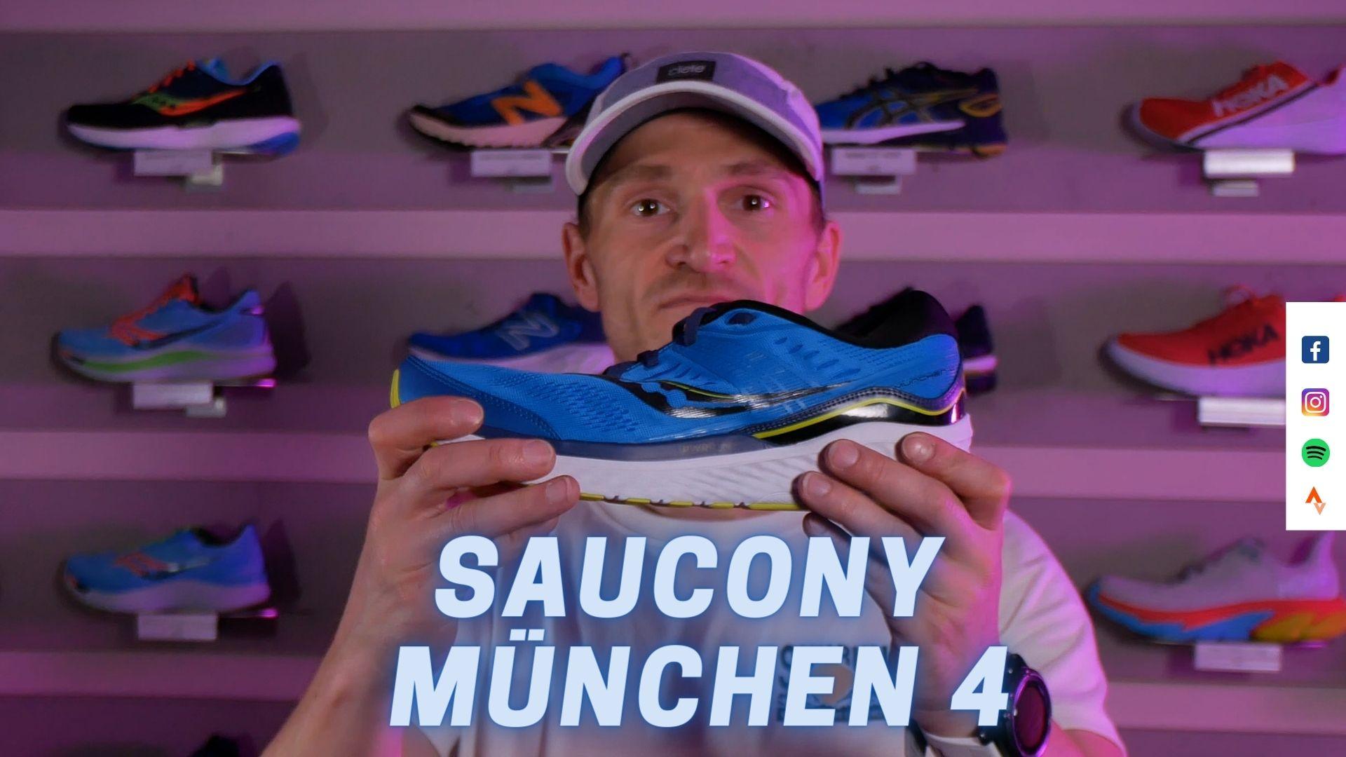 Laufschuh Test: Saucony München 4 | (German | Deutsch)