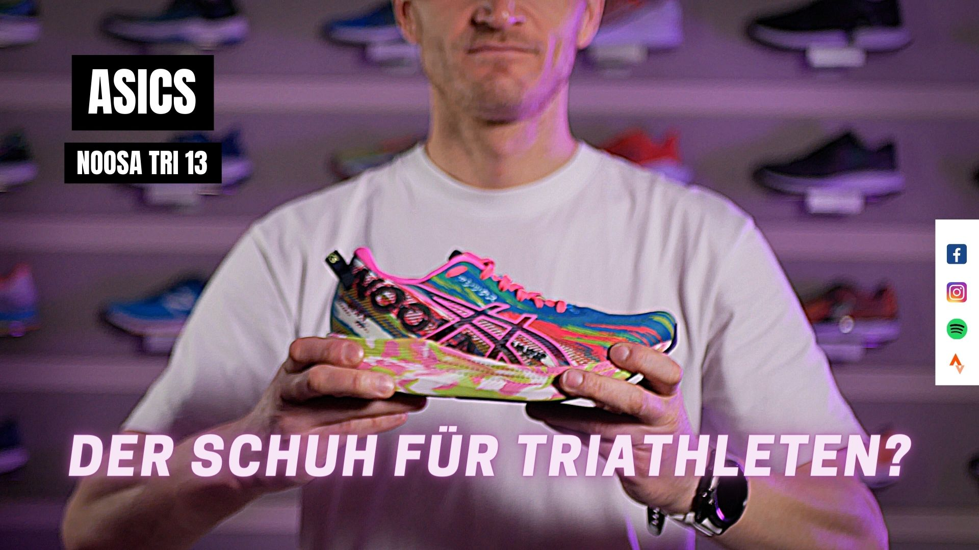 Laufschuh Test: Asics Noosa 13 (German | Deutsch)