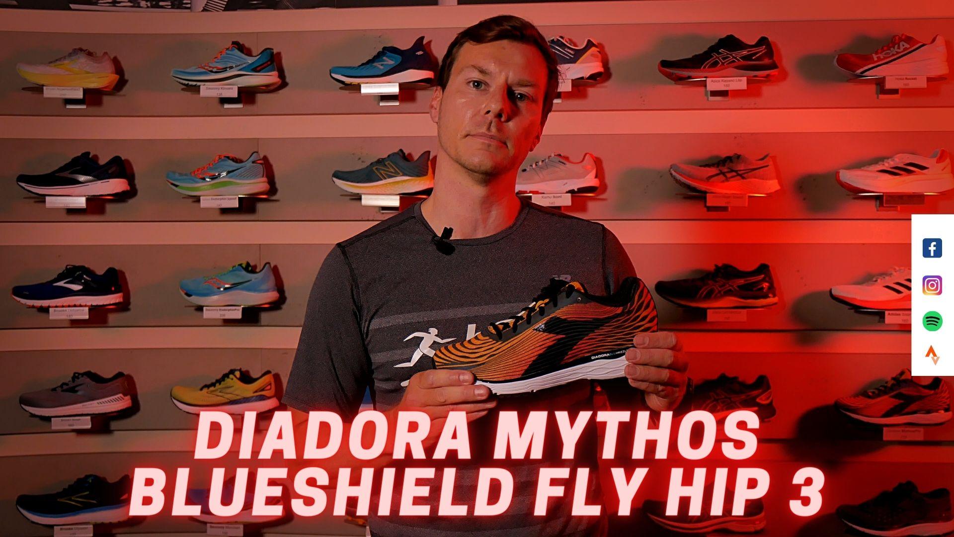 Laufschuh Test | DIADORA MYTHOS BLUESHIELD FLY HIP 3 | (German | Deutsch)