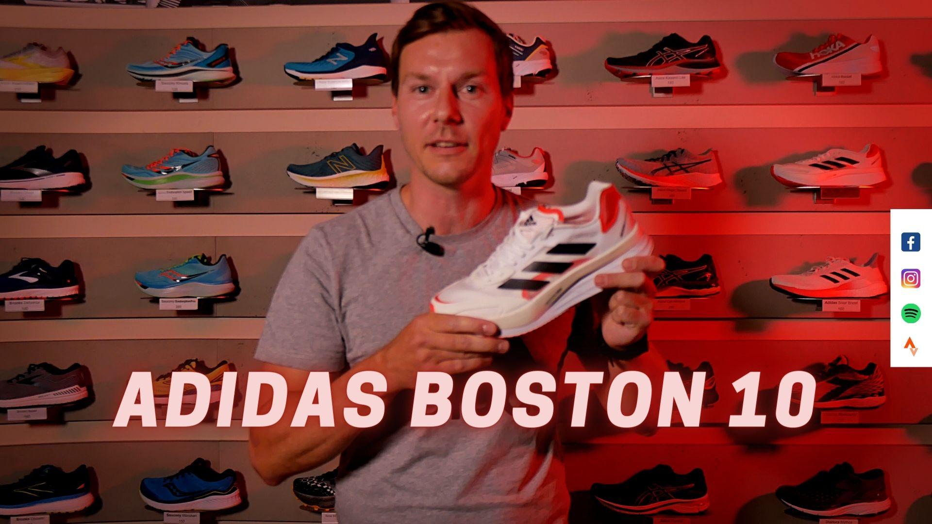 Laufschuh Test | Adidas Boston 10 | (German | Deutsch)