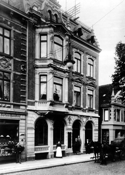 Weinkellerei Heinr. von Have um 1900