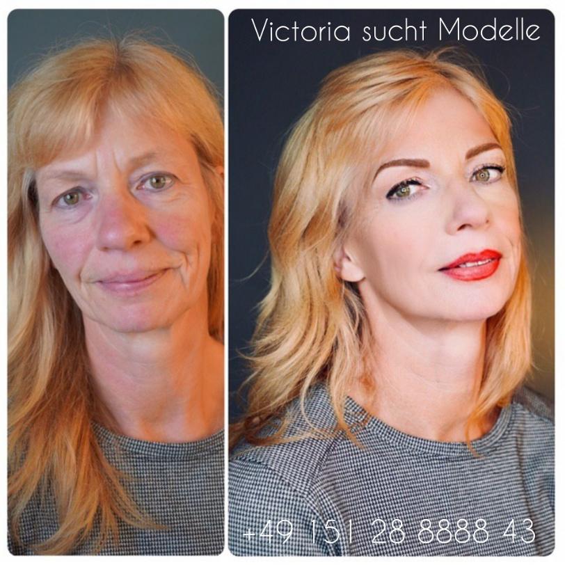 Perfektes Makeup und Foto!